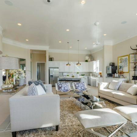Elegant Community Club House | Little Elm TX Apartments | The Luxe 3Eighty