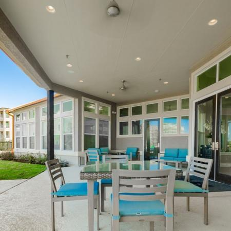 Resident Sun Deck | Little Elm TX Apartment For Rent | The Luxe 3Eighty