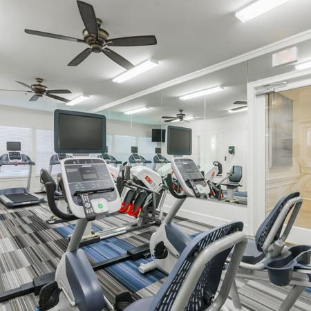 Cutting Edge Fitness Center | Apartments Homes for rent in Wylie, TX | The Mansions of Wylie01