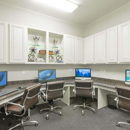 Community Business Center | Apartments in Wylie, TX | The Mansions of Wylie01