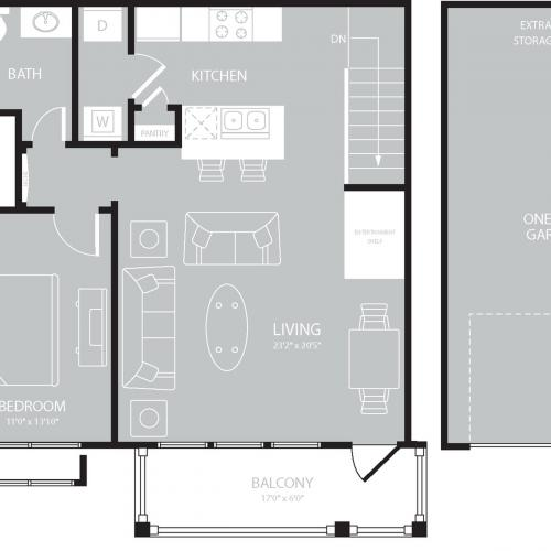 Floor Plan 4 | The Mansions on the Park
