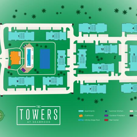 Apartments in Seabrook TX | The Towers of Seabrook