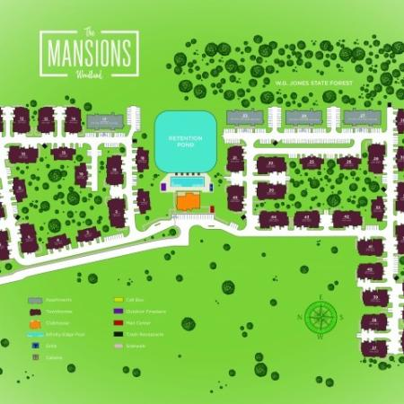 Site Plan | Apartments In Conroe TX | The Mansions Woodland