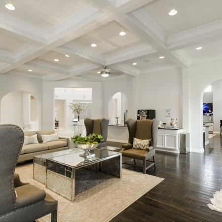 Luxurious Living Room | Apartment Homes in Magnolia, TX | The Mansions on the Park
