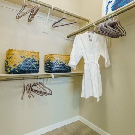 Spacious Closet | Apartments In Aubrey TX | Luxe 3Eighty