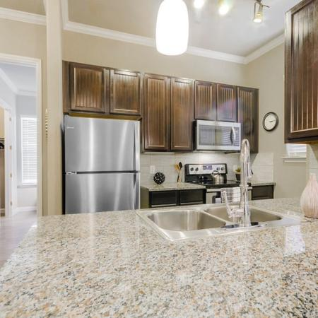 State-of-the-Art Kitchen 1 | Little Elm TX Apartments | Luxe 3Eighty