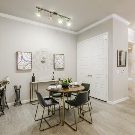 Spacious Dining Room | Apartments In Little Elm TX | Luxe 3Eighty