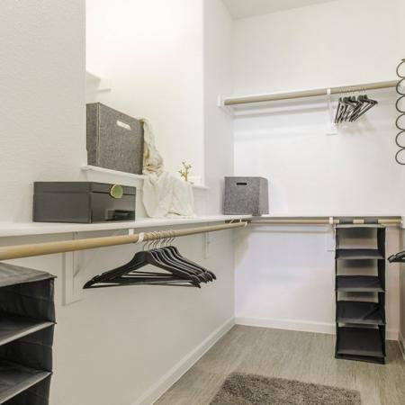 Spacious Closet | Apartments In Austin TX | The Mansions at Travesia