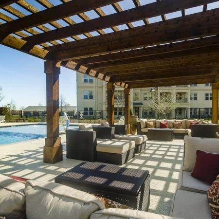 Lounging by the Pool | Wylie Apartments | The Mansions at Wylie01