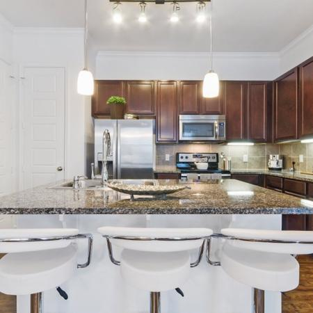 Modern Kitchen | Apartment Homes In CONROE | The Grand Estates in the Forest