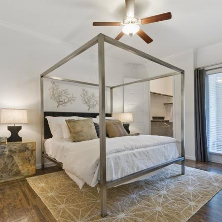 Spacious Master Bedroom | CONROE Texas Apartments | The Grand Estates in the Forest