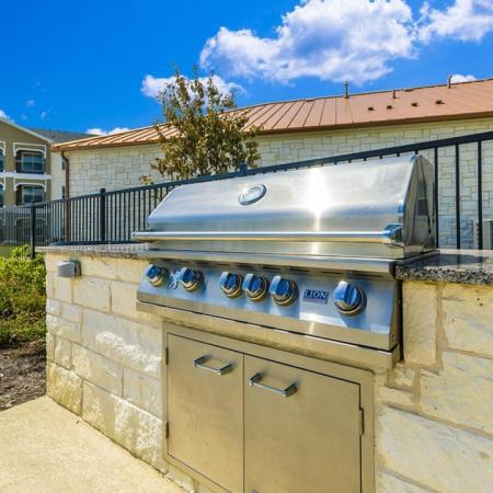 Community BBQ Grills | Apartment Homes In Little Elm | The Estates 3Eighty