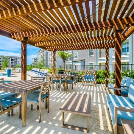 Resident Sun Deck | Apartment Homes In Little Elm | The Luxe 3Eighty