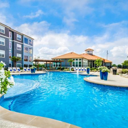 Resort Style Pool | Apartments in Little Elm | The Luxe 3Eighty