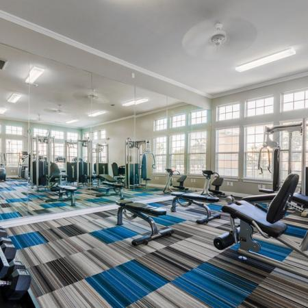 Cutting Edge Fitness Center | San Antonio Texas Apartments | The Estates at Briggs Ranch