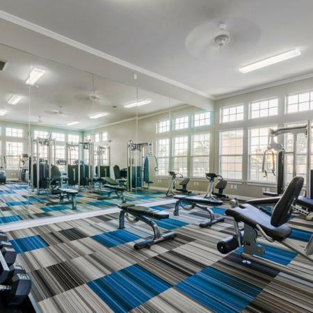 Cutting Edge Fitness Center | San Antonio Texas Apartments | The Estates at Briggs Ranch