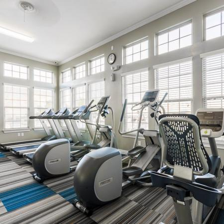 State-of-the-Art Fitness Center | San Antonio Texas Apartments for Rent | The Estates at Briggs Ranch