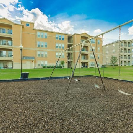 Community Children's Playground | San Antonio Texas Apartments for Rent | The Estates at Briggs Ranch