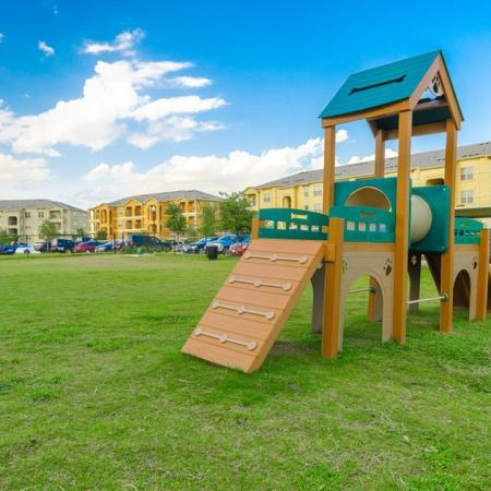 Resident Children's Playground | San Antonio Texas Apartments | The Estates at Briggs Ranch