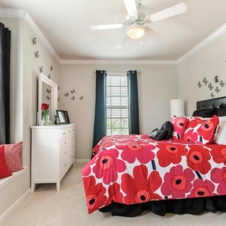 Luxurious Bedroom | Apartments in SAN ANTONIO | The Mansions at Briggs Ranch