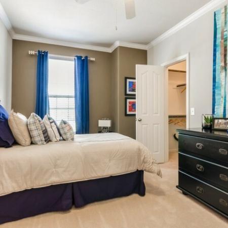 Vast Bedroom | SAN ANTONIO Apartments | The Mansions at Briggs Ranch