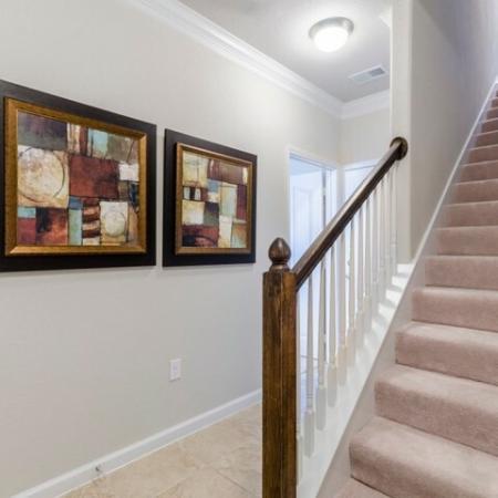 Spacious Hallway | Apartments in SAN ANTONIO | The Mansions at Briggs Ranch