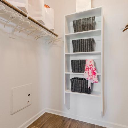 Spacious Closet | Apartments in San Antonio | The Estates at Briggs Ranch