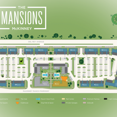 Community Map | MCKINNEY Apartments | The Mansions McKinney