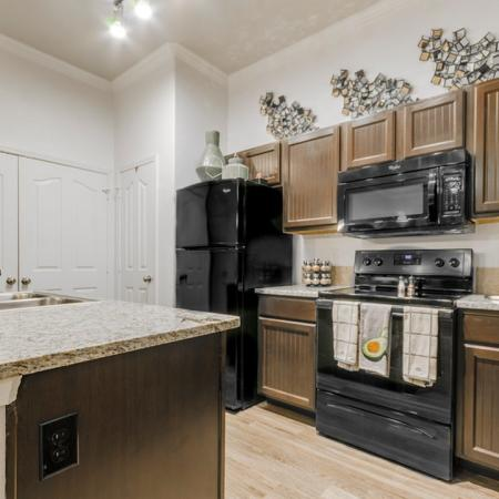 Modern Kitchen | Apartment Homes In MAGNOLIA | The Estates Woodland