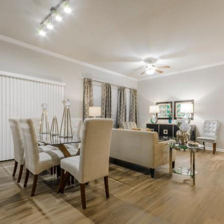 Luxurious Dining Room | MAGNOLIA Texas Apartments for Rent | The Estates Woodland