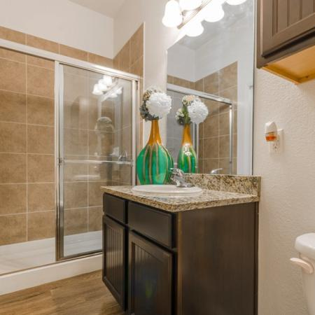 Ornate Bathroom | Apartments in MAGNOLIA | The Estates Woodland