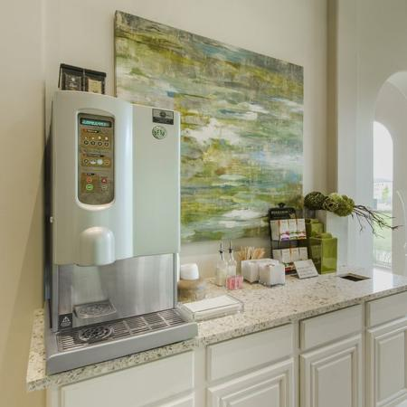Resident Coffee Bar | Luxury Apartments In Georgetown TX | Mansions of Georgetown