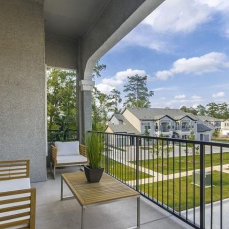 Spacious Apartment Balcony | Apartments In Georgetown TX | Mansions of Georgetown