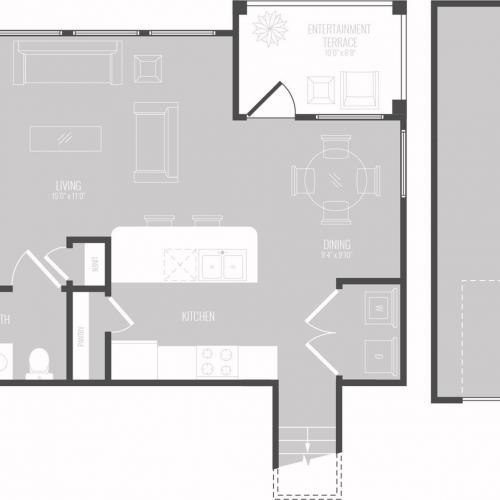Floor Plan 4 | Apts In Georgetown TX | Mansions of Georgetown
