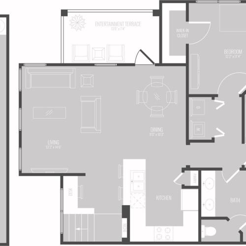 Floor Plan 7 | Apartments In Georgetown TX | Mansions of Georgetown