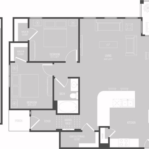 Floor Plan 10 | Apartment In Georgetown TX | Mansions of Georgetown