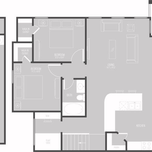 Floor Plan 11 | Luxury Apartments In Georgetown TX | Mansions of Georgetown