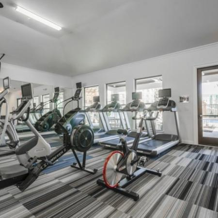 24-hour Fitness Center | Apartments Richardson Texas | The Mansions at Spring Creek