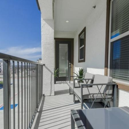 Spacious Porch Area | Apartments Richardson Texas | The Mansions at Spring Creek