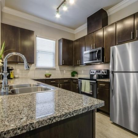 Kitchen | Apartments In Austin | The Mansions at Travesia