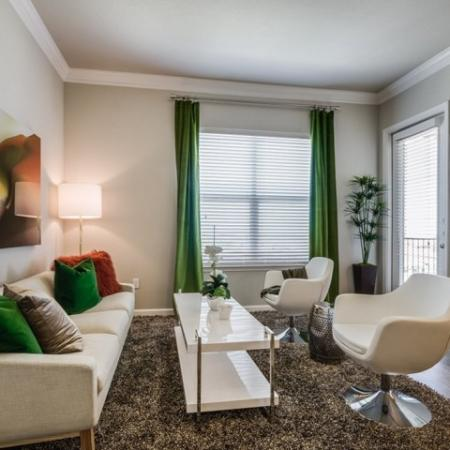 Living Area | Apartments In Austin | The Mansions at Travesia