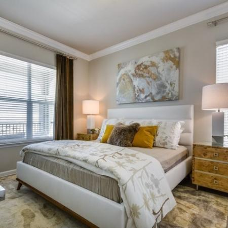 Bedroom | North Austin Apartments | The Mansions at Travesia