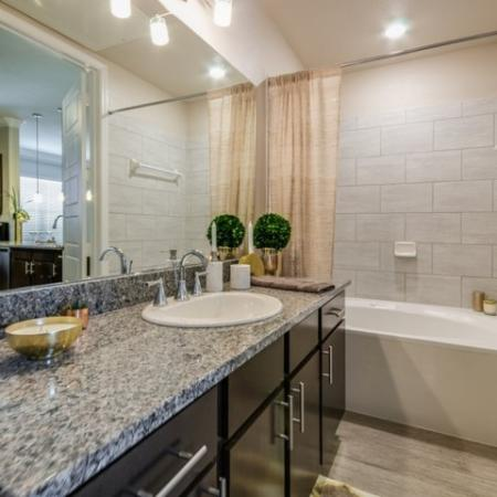 Bathroom | Apartments In Austin | The Mansions at Travesia