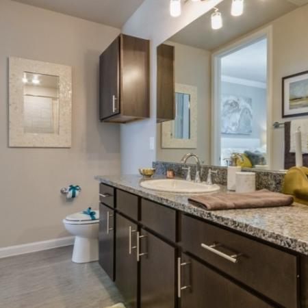 Master Bathroom | North Austin Apartments | The Mansions at Travesia