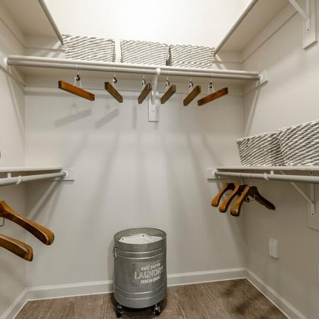 Vast Closet | Apartments New Braunfels TX | The Luxe at Creekside