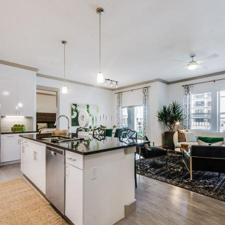 State-of-the-Art Kitchen   Apartments Garland TX   The Towers at Spring Creek