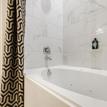 Ornate Bathroom | Apartments In Garland TX | The Towers at Spring Creek