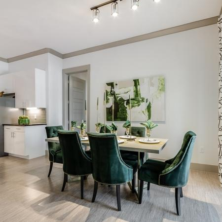 Spacious Dining Room   Apartments In Garland TX   The Towers at Spring Creek