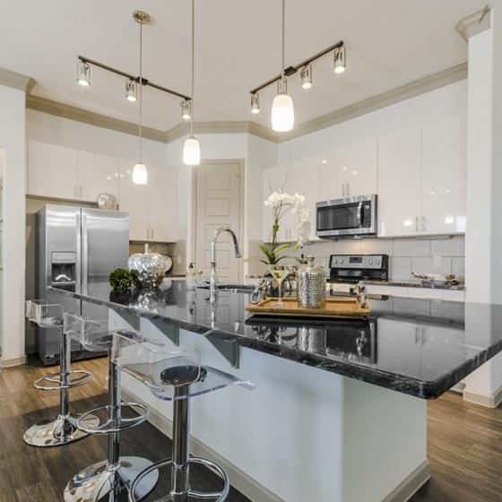 Elegant Kitchen | Luxury Apartments In Georgetown TX | Mansions of Georgetown
