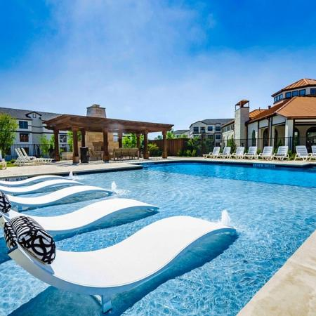 Sparkling Pool | 3 Bedroom Apartments In Garland TX | The Mansions at Spring Creek